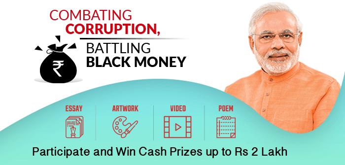 Combating Corruption, Battling Black Money